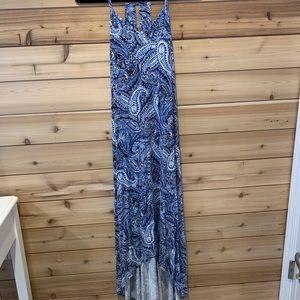 Cynthia Rowley high-low maxi dress